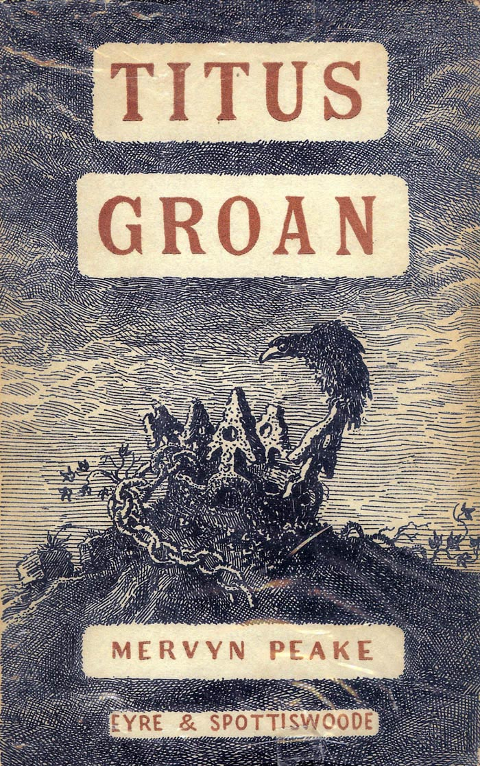 Book Cover Series S : Titus groan by mervyn peake who s dreaming