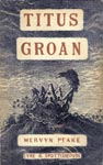 Titus Groan 1st edition, 1946 Mervyn Peake's own cover design