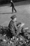 Sketching, Germany June 1945